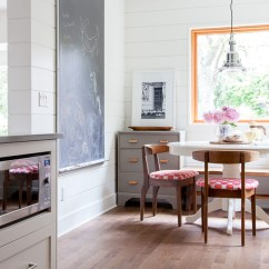 Kitchen Table Nook Lowes Copper Sink Before After Breakfast The House Diaries Blackboard Thehousediaries Com