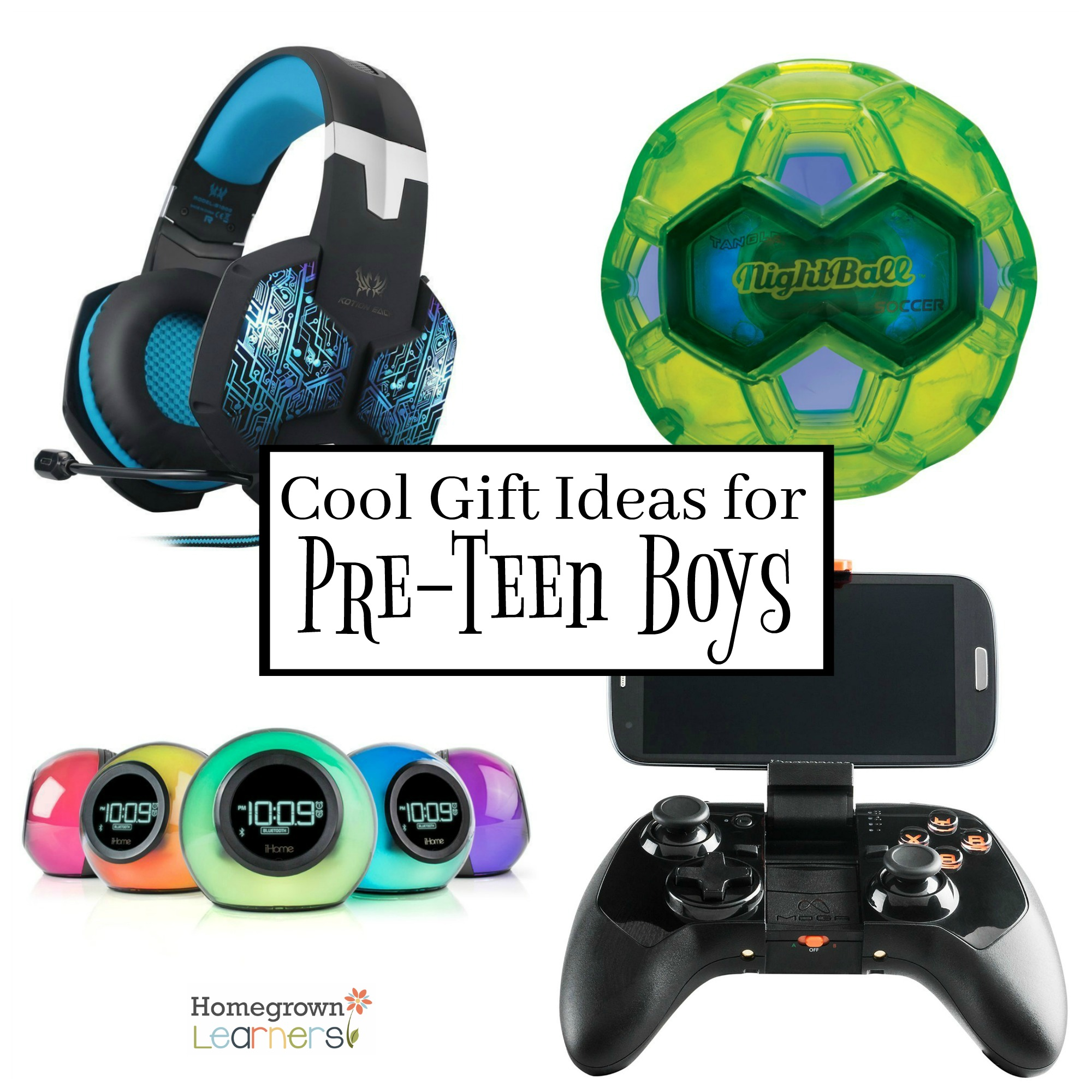 Cool Gift Ideas for PreTeen Boys  Homegrown Learners