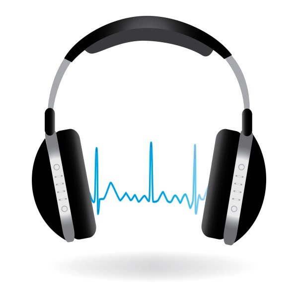 Headphones with Sound Waves