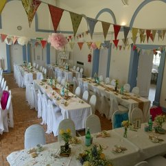 Chair Covers Gladstone Design In Nigeria Centrepieces Funky Sunflower Events Gorgeous Boho Chic At Village Hall
