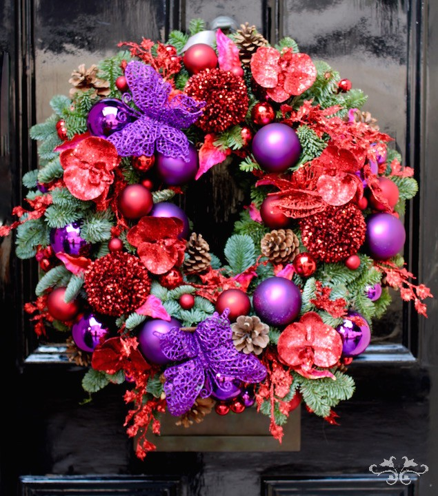 Celebrating Christmas and the Festive Season in Luxury  Neill Strain Floral Couture London
