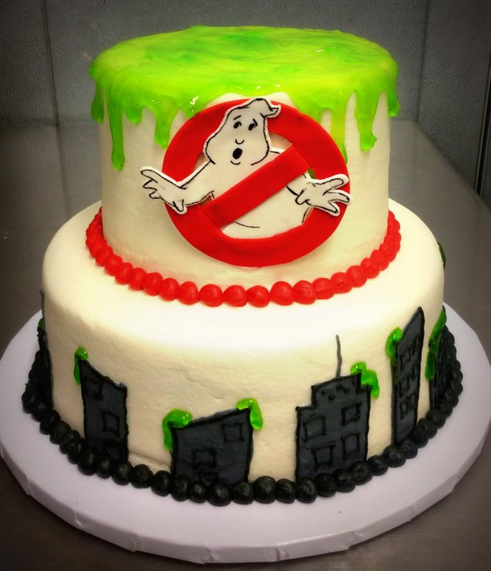 Ghostbusters Party Cake Trefzger S Bakery