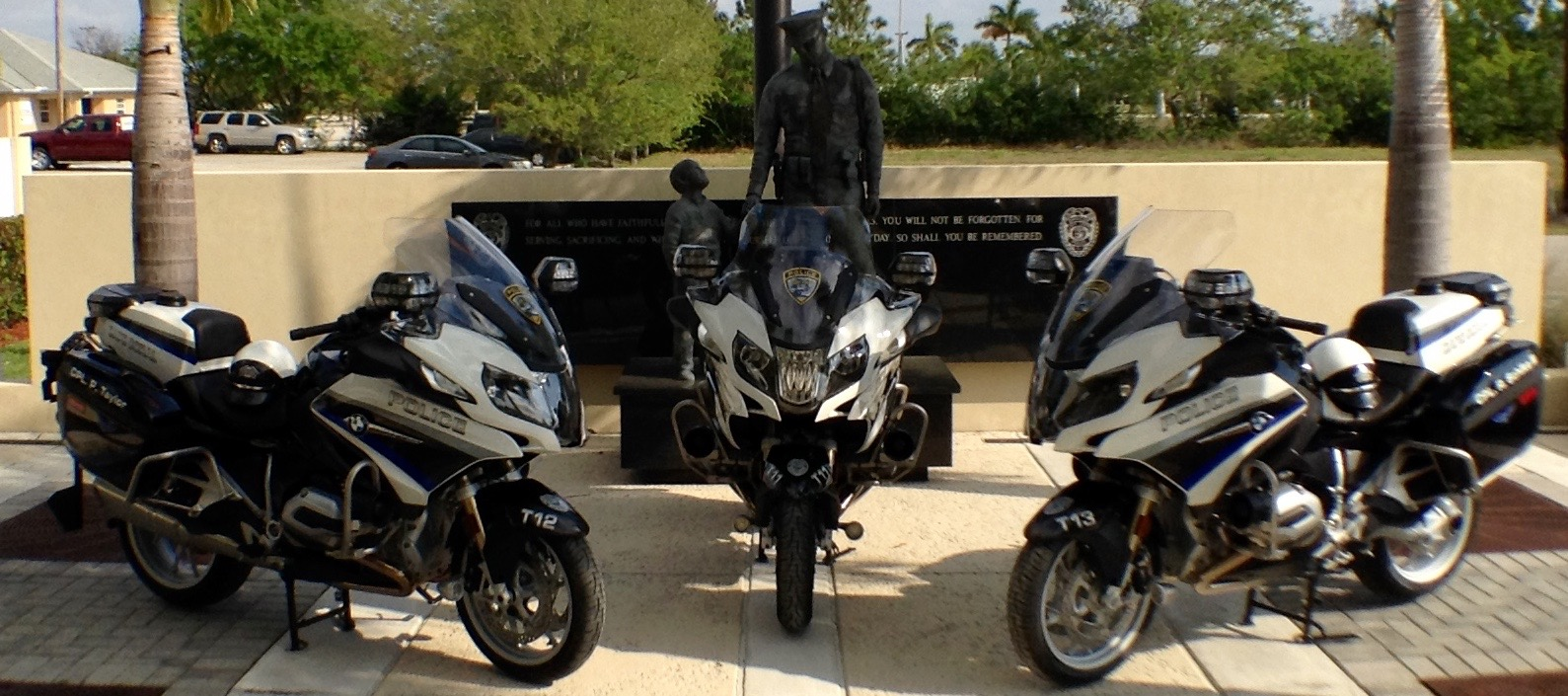 medium resolution of cape coral police department unveils new motorcycles for traffic unit cape coral police department