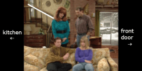 Living Rooms in a Sitcom World  Branche