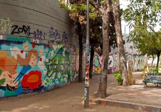 Graffiti Park Barcelona
