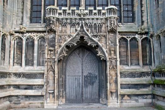 Door of St Botolph's Church, Boston