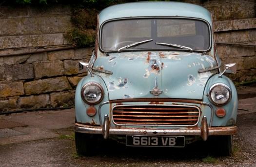Rusting Morris Minor