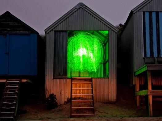 Green Light in Beach Hut