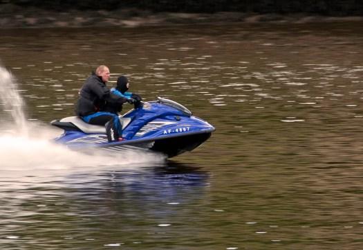 Jetski on River Tyne Newcastle
