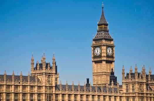 Big Ben at Westminster London