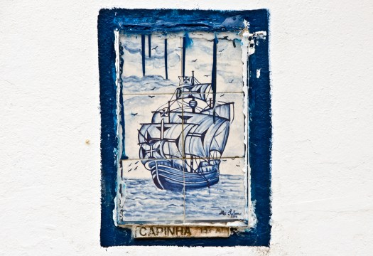 Caphinha Boat on Tiles