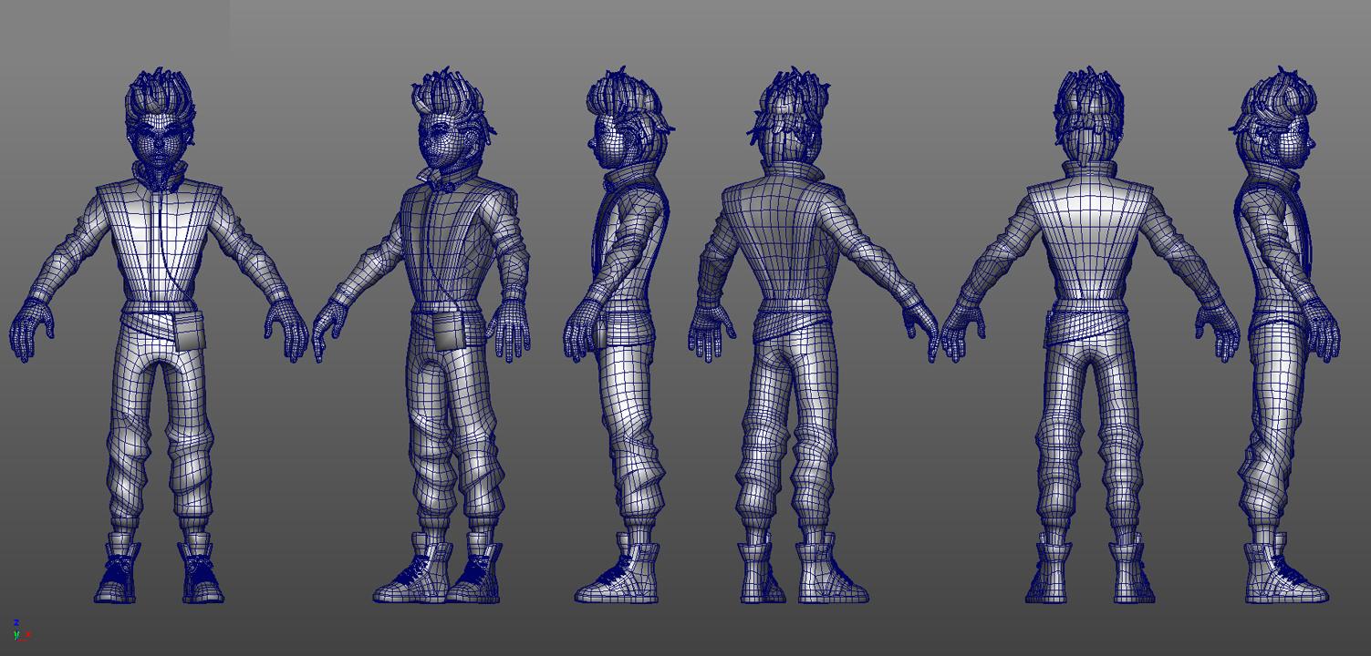 Character Models — Lisette Titre Portfolio