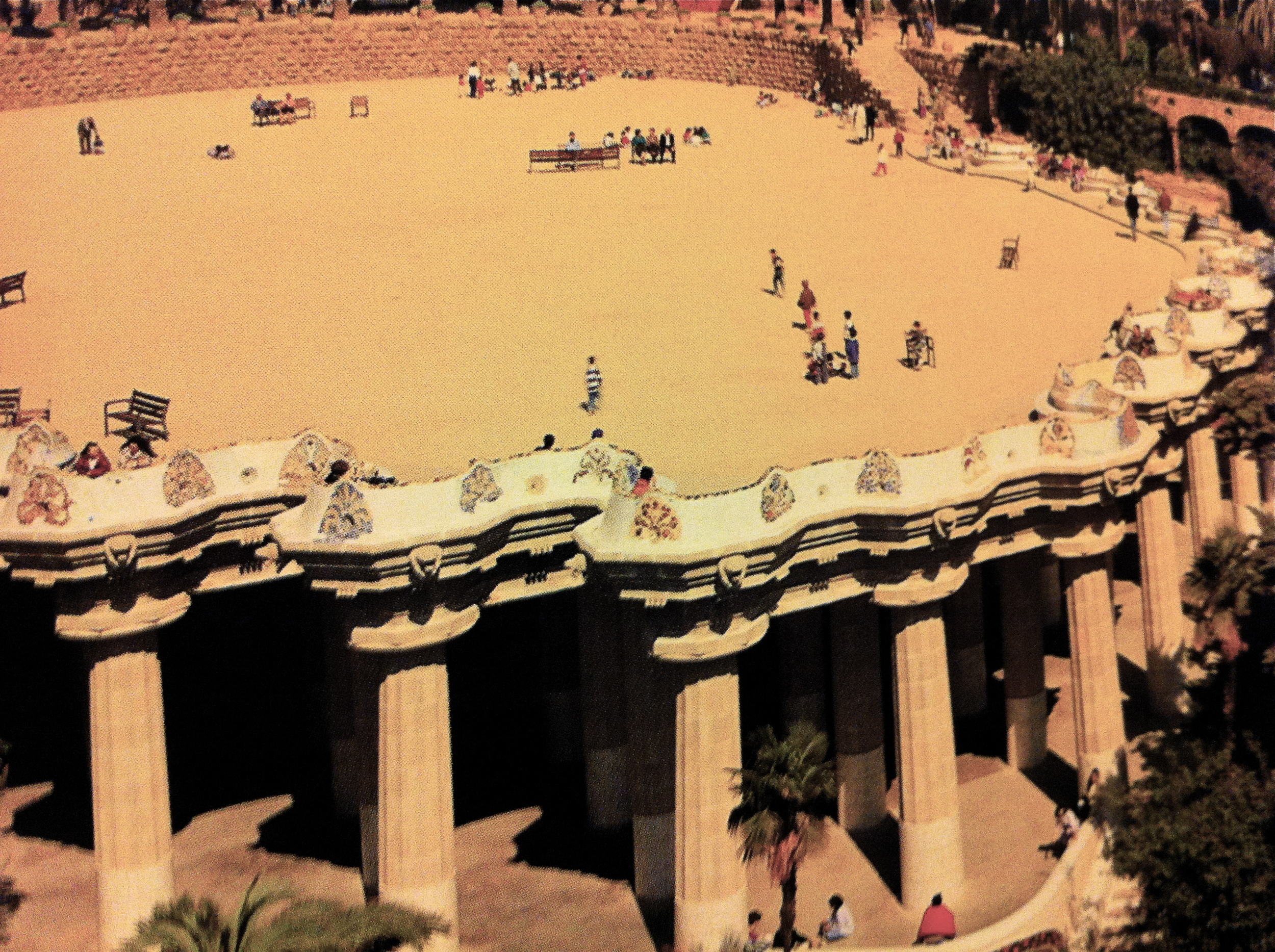 Gaudi S Guell The Anthrotorian