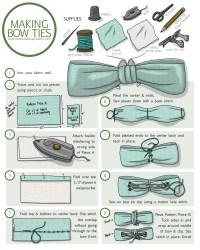 How to Make a Clip-On Bow Tie  Amanda Farquharson