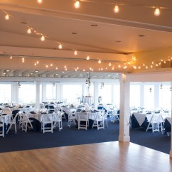 White Chair Rentals Felt Pads :: Milford Yacht Club Wedding Milford, Ct — Amy Champagne Events | Connecticut ...