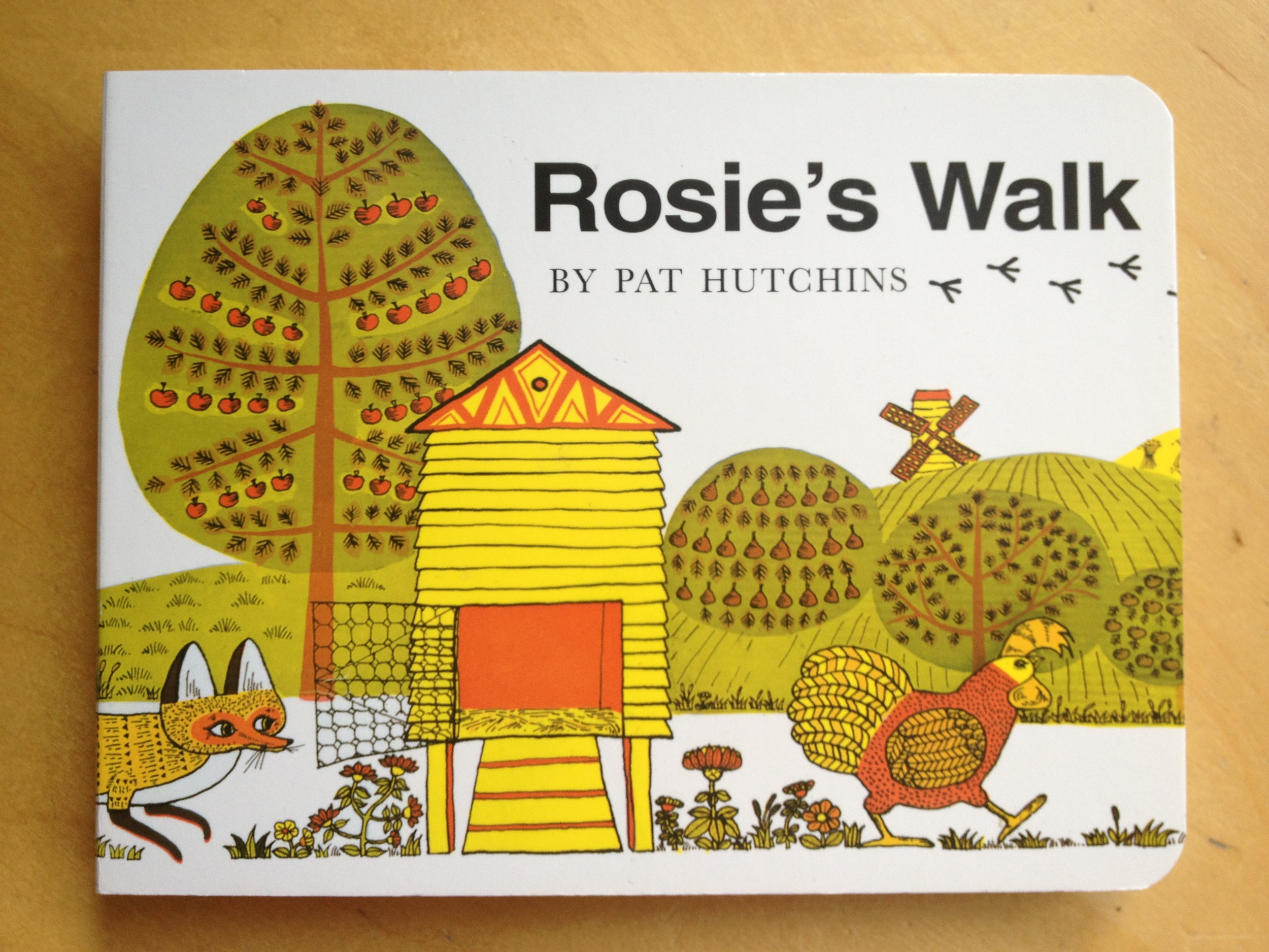 Jennys Picture Book Review Rosies Walk By Pat