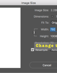Open the image size dialog box and set it to inches if not already also scaling aspect ratio  cornicello photography rh