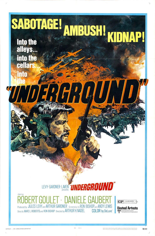 Underground. 1970.