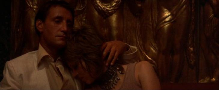 Roy Scheider as Frank, Bree's pimp, and Jane Fonda.