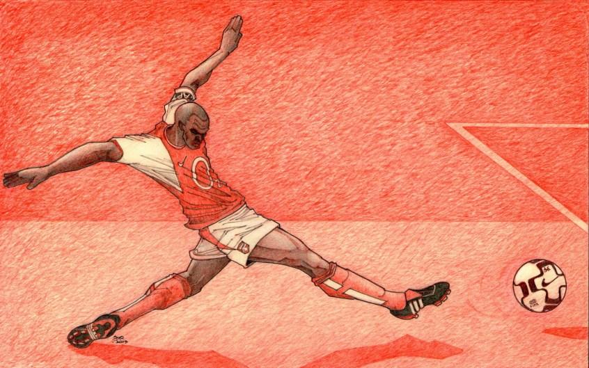 Vieira at White Hart Lane