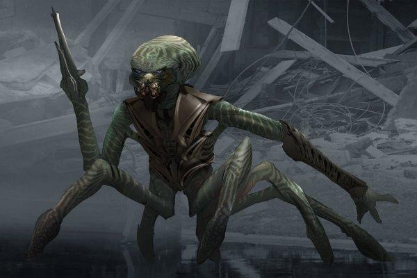 Falling Skies Aliens Concept Art