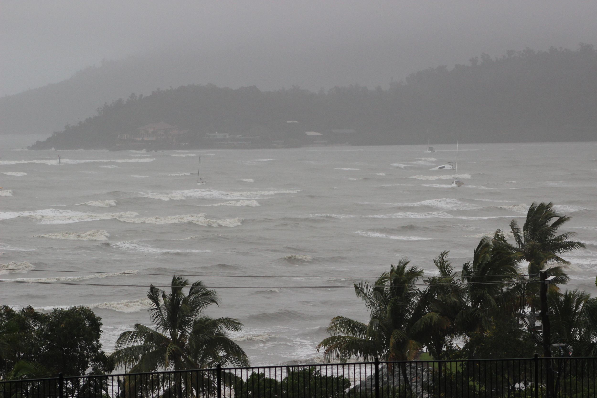 2nd Day - During the cyclone.