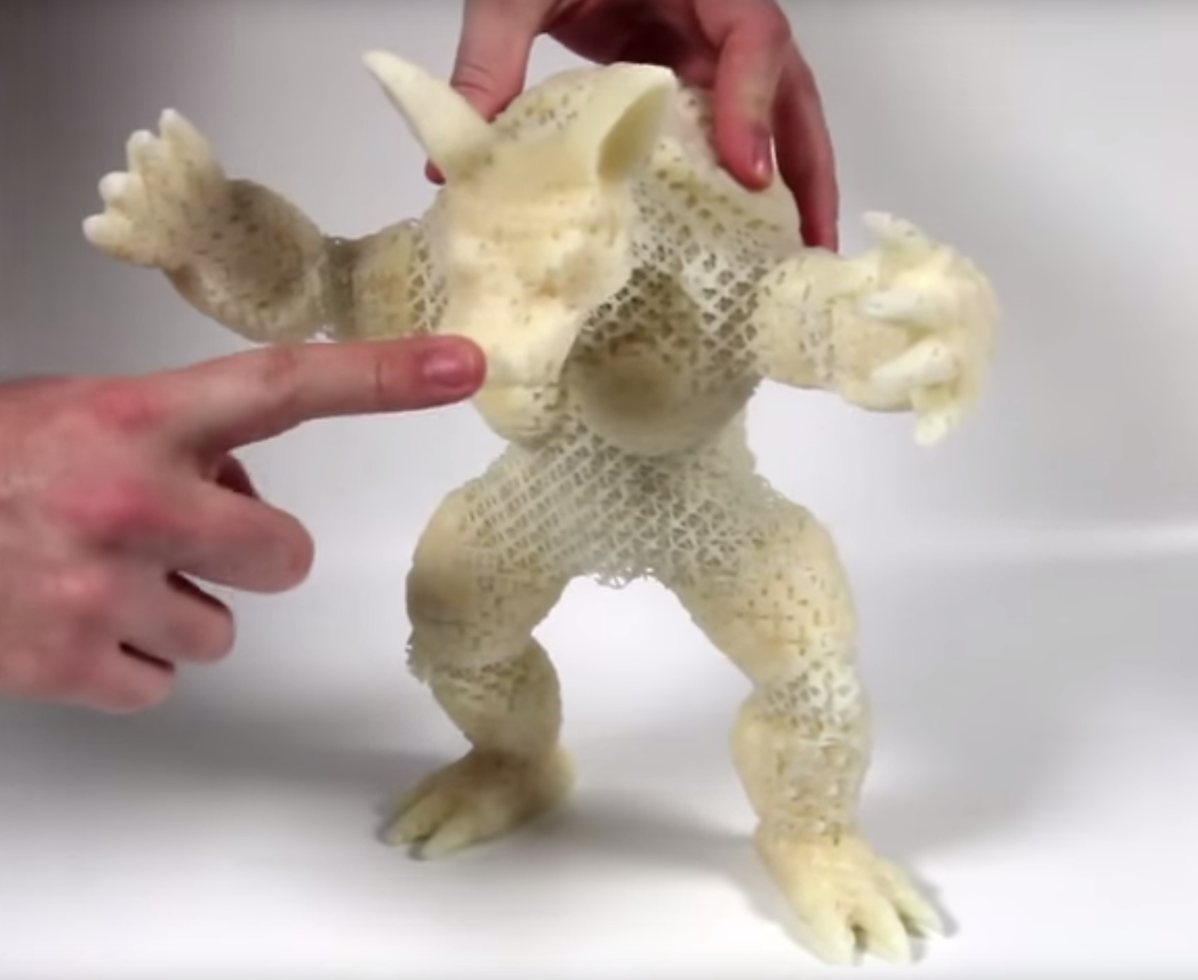 3d Print Flexible Objects With Solid Plastic Disney