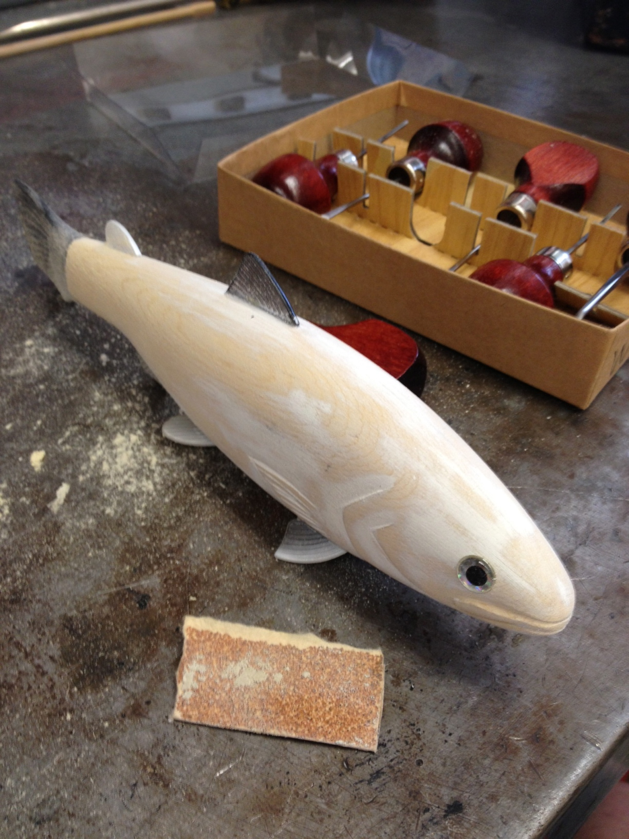 Wanna See A Trout Carved In 15 Seconds OK It Took A Little Longer Than That  TheBBZcom