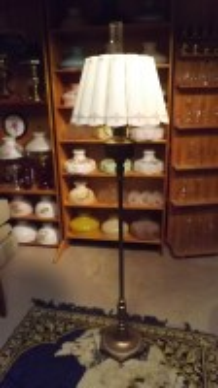 Antique Floor Lamps  Antique Kerosene Lighting