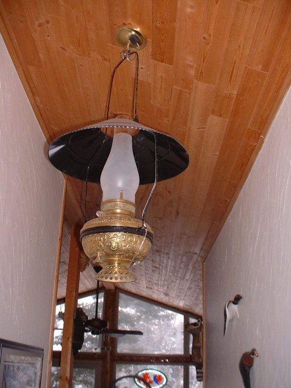 Decorating With Antique Lamps Kerosene Lighting