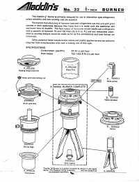 Parts for kerosene refrigerators  Antique Kerosene Lighting