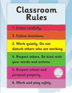 Classroom rules poster also posters and displays  edgalaxy cool stuff for nerdy teachers rh
