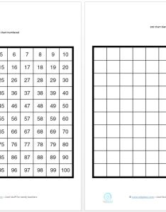 Use these printable   charts to teach your children or students all the numbers from there is  blank and numbered template they are also counting for edgalaxy cool stuff rh