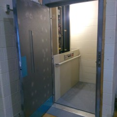 Wheelchair Lift Cost Upholstered Club Chair Lifts - Commerical — Mcnally Elevator Company   Commercial And Residential Elevators ...