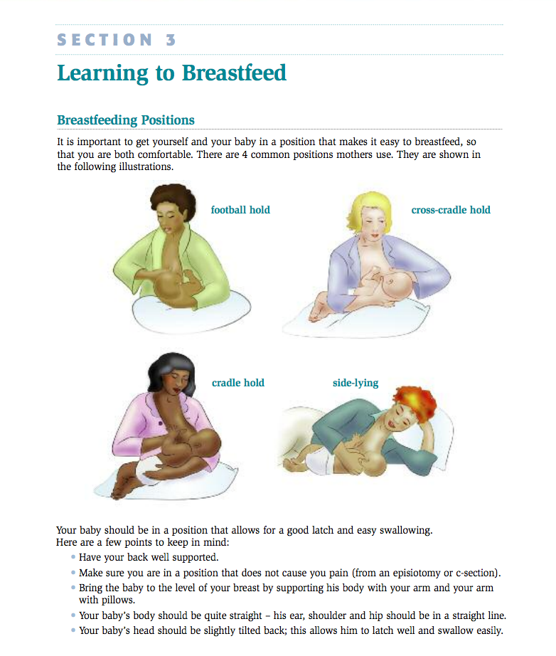 A Breastfeeding Guide For Your Hospital Stay — The ...