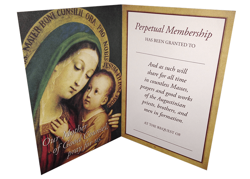 Prayer Intention Cards — Midwest Augustinians