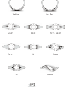 Types of wedding rings styles also quiet rh quietweddingspot