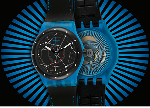 Swatch Sistem51 Front-and-Back