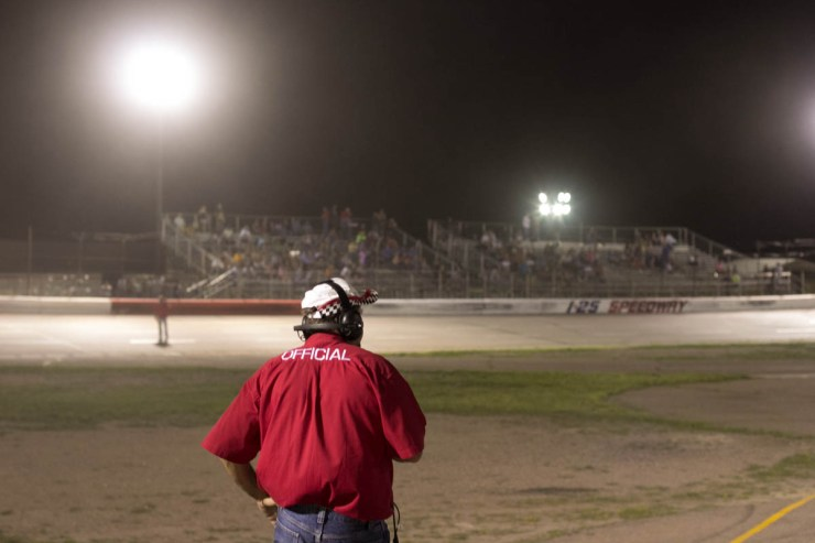 Charlie Wilson, Race Director at the I-25 Speedway | Photo PULP