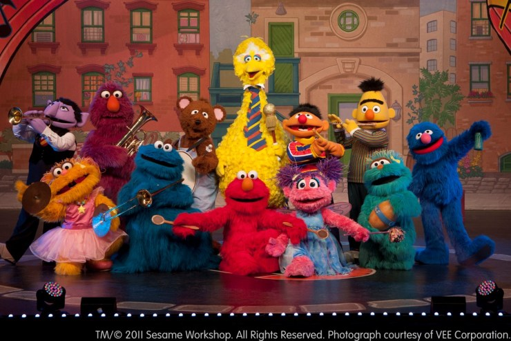 Photo Courtesy Sesame Street Workshop | VEE Corporation