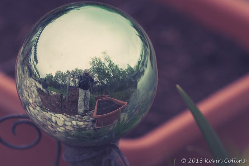 Selfie in a Sphere