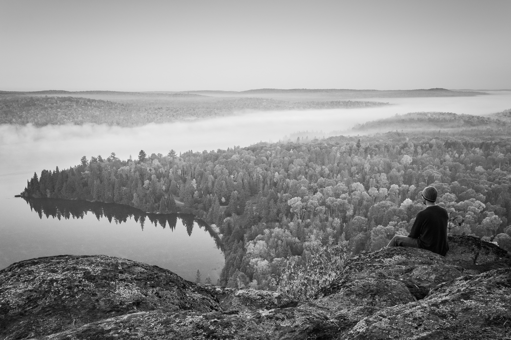Lookout Over Whitefish Lake (1/50s, f/11, ISO800)