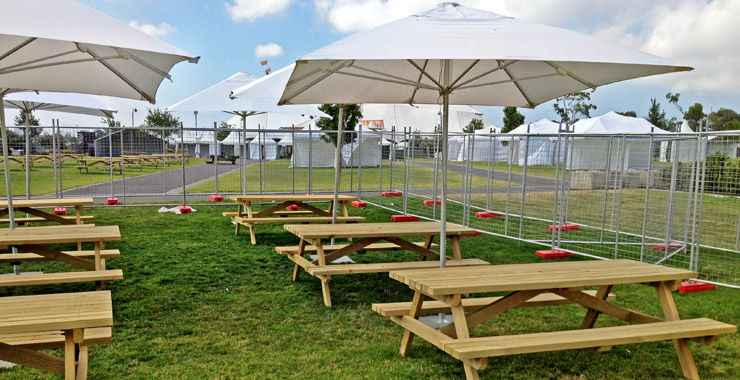 table and chair hire under revit event big picnic tables
