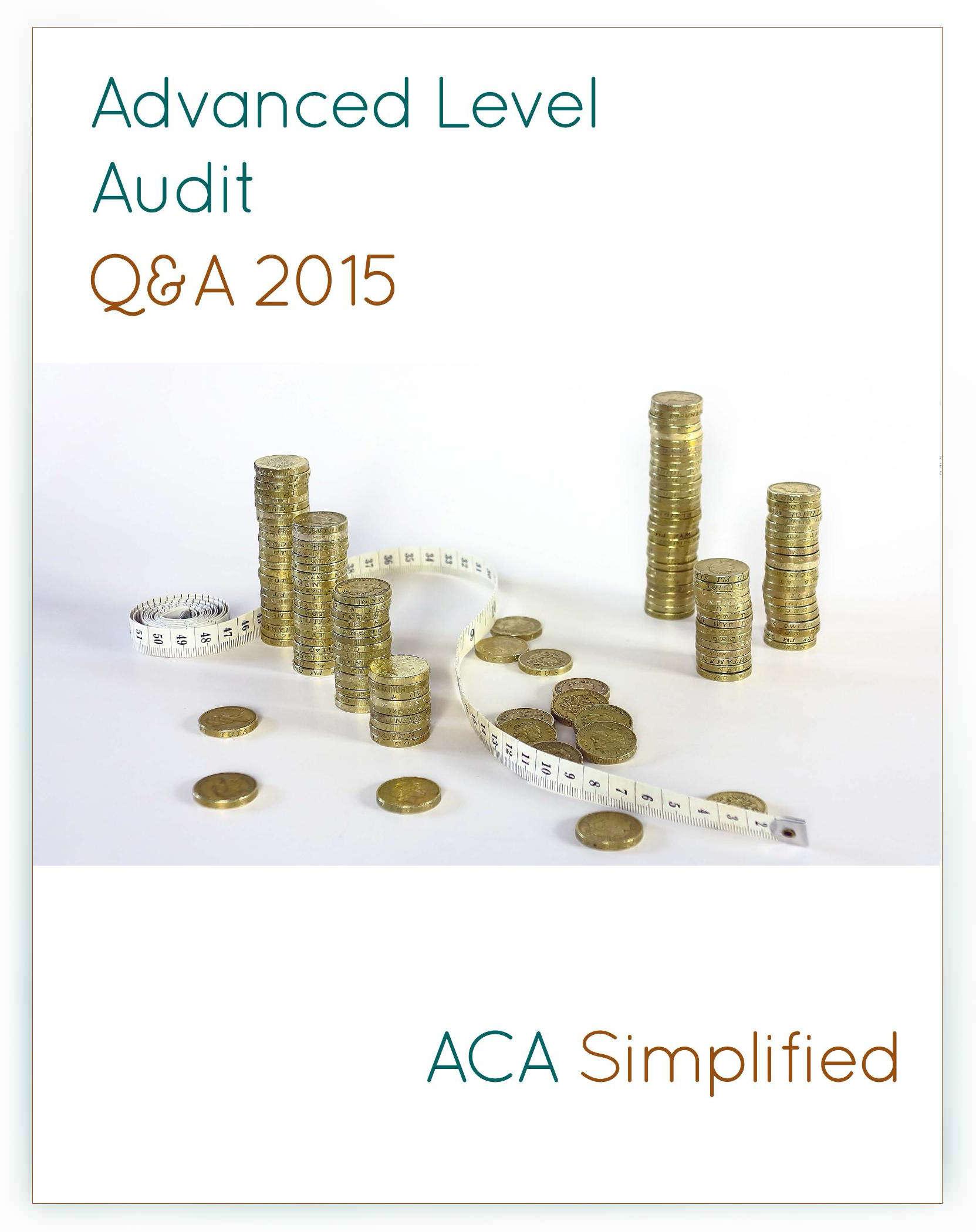 Advanced Level  ACA Simplified