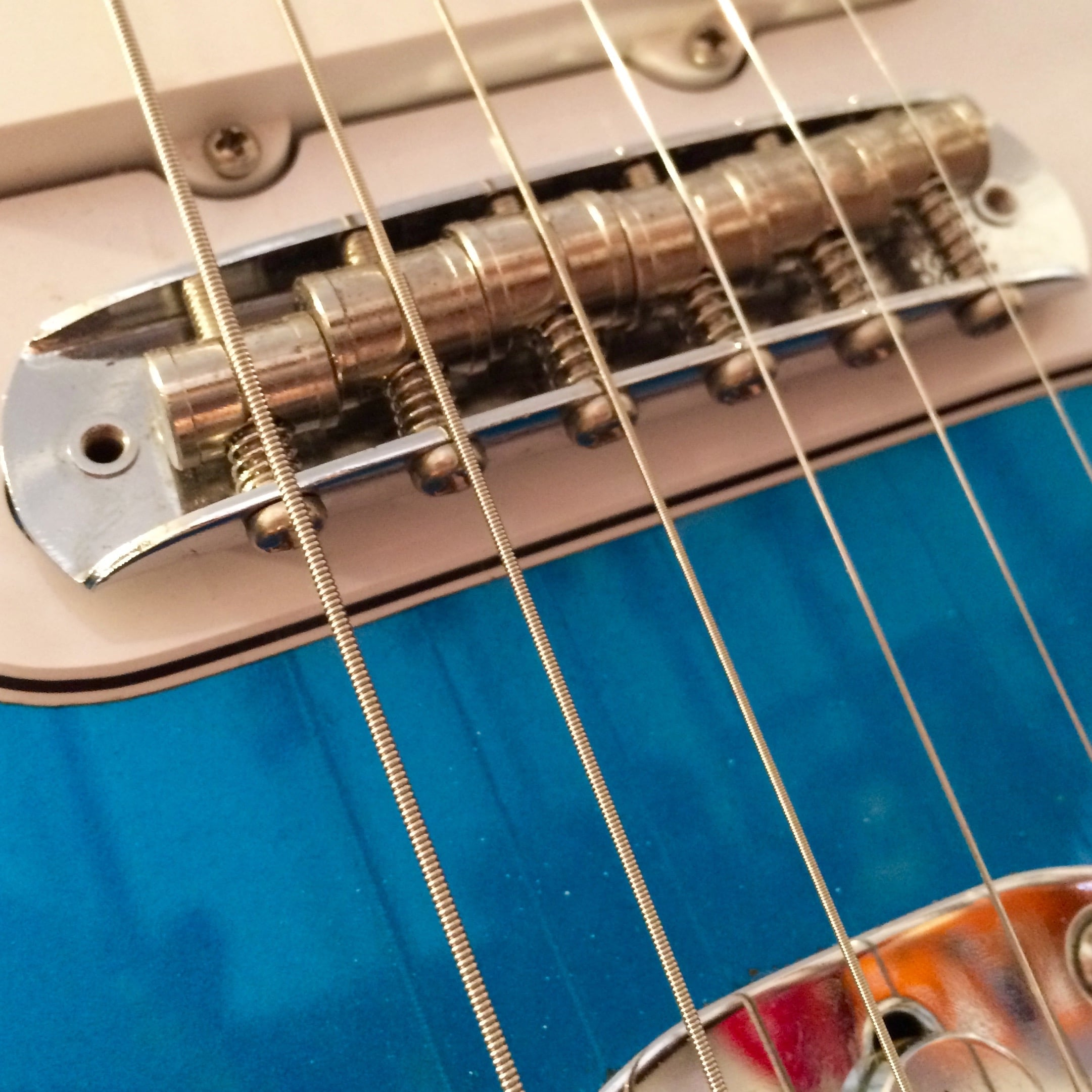 hight resolution of setting intonation on a jaguar jazzmaster or mustang