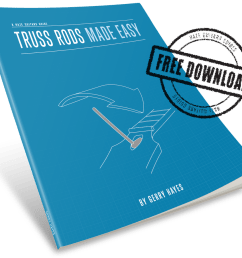 it s not that scary download truss rods made easy for free  [ 1000 x 905 Pixel ]