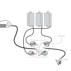 Strat Wiring Diagram Bridge Tone Ford Glow Plug A More Flexible 3 Pickup Gibson Haze Guitars Les Paul Sg Modification For Flexibility With Middle