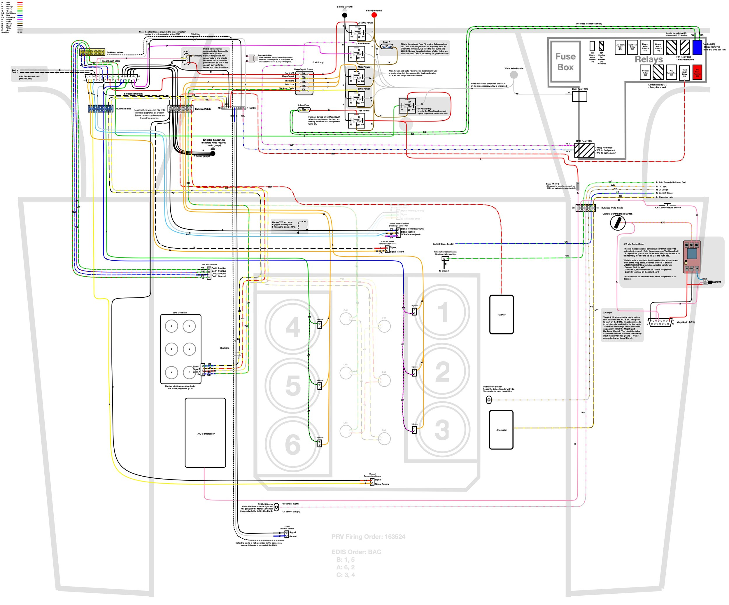 delorean wiring diagrams library [ 1500 x 1244 Pixel ]