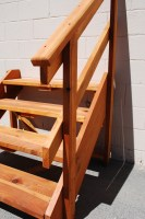 spec deck Free Standing Stairs — The Redwood Store