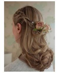Half Up Half Down Wedding Hair for brides and bridesmaids ...